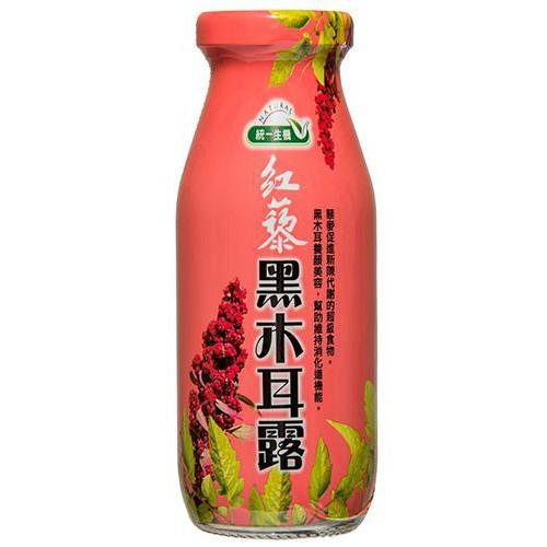 統一生機 紅藜黑木耳露 (200ml*24瓶/箱)