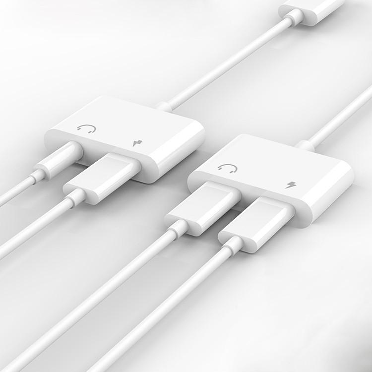 Apple耳機 IPhone 11 pro MAX XS 8 7 Plus轉接線 lightning 轉接頭 音頻轉接器