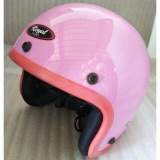 B級品優惠出清~ 3/ 4罩 小帽體 亮面彩條素色安全帽 511 復古帽 騎士帽  Royal 半罩 素色安全帽 高雄市