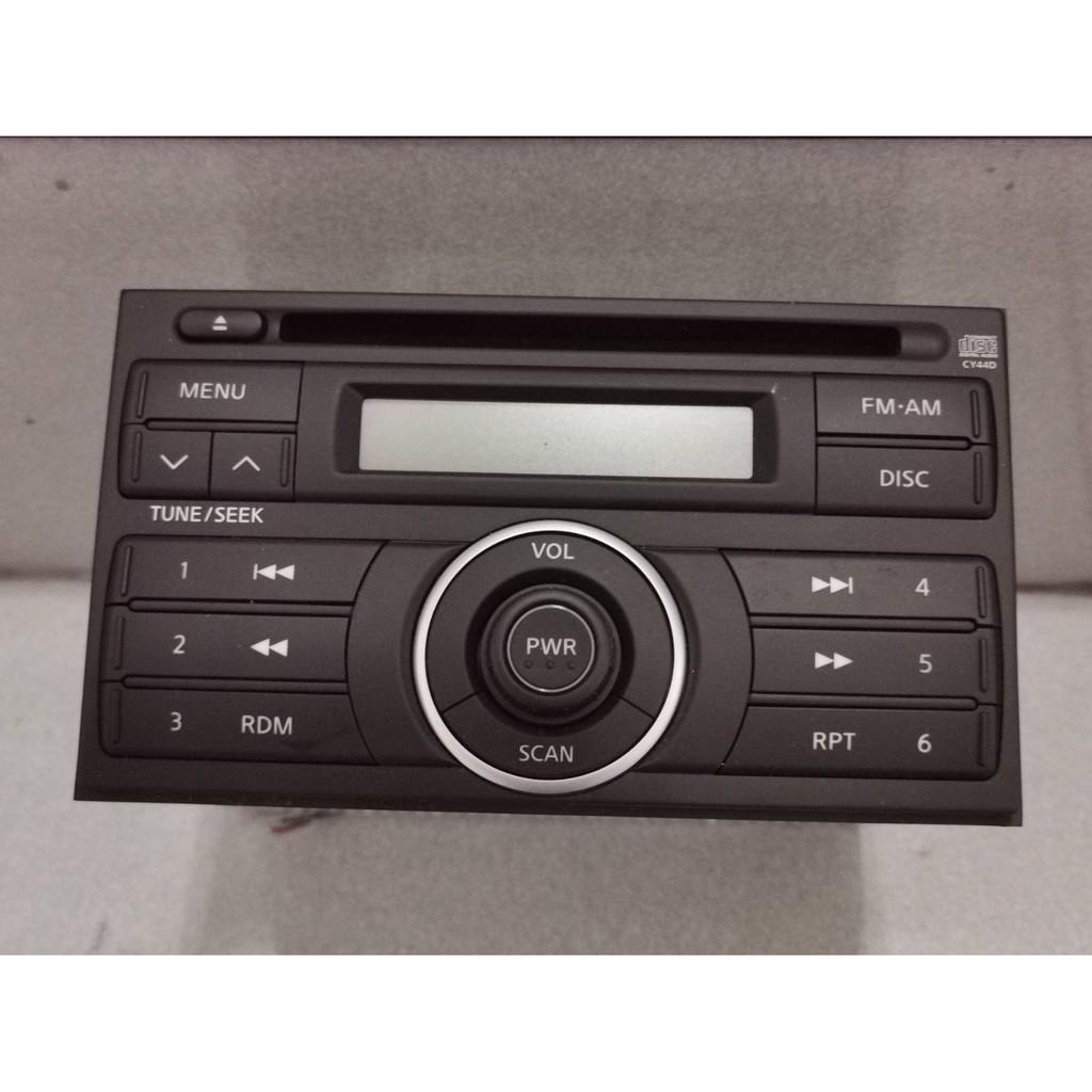 Nissan 原廠 2DIN CD主機 PN-2871L   LIVINA TIIDA  汽車音響主機(二手)