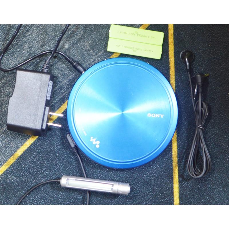 【懷舊CD機隨身聽】2手原裝SONY索尼超薄金屬CD隨身聽CD機D-EJ955/985送電源耳機電池
