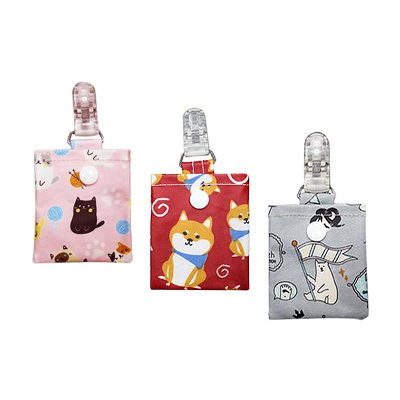 寶寶平安符奶嘴安全夾袋(1入)【小三美日】D555787
