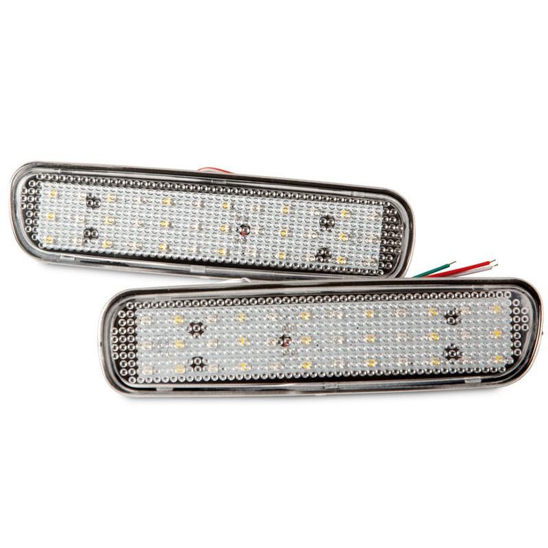LEXUS 凌志 LX470 / TOYOTA 豐田 Land Cruiser 適用 LED後保桿燈 (透明燈殼)