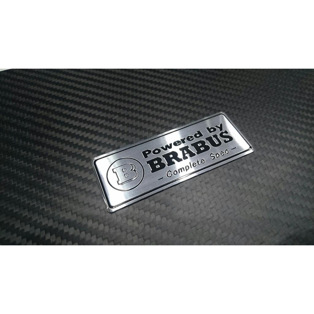 BRABUS 貼標 銘牌 改裝標 E55 W203 W202 W204 E280 賓士 BENZ AMG 改裝