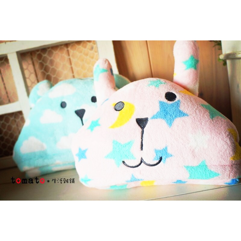 ˙TOMATO生活雜鋪˙日本進口雜貨Oyasumi CRAFTHOLIC晚安系列抱枕懶人毯連帽毯