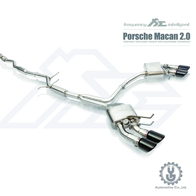 FI 高流量帶三元催化頭段 當派 排氣管 Porsche Macan 2.0 2014+ 底盤【YGAUTO】
