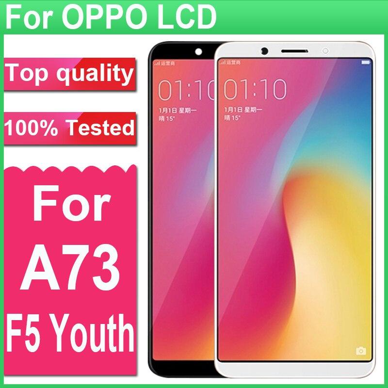 """6.0""""手機螢幕總成維修替換件適用於OPPO A73 A73T F5 Youth青春"""
