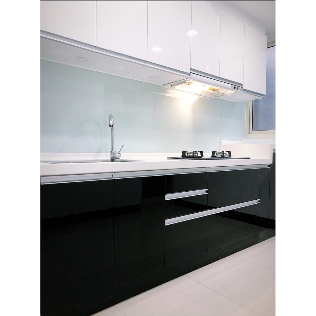 《達力系統櫃廚具》LG人造石(240)一字型流理台 搭配櫻花兩機