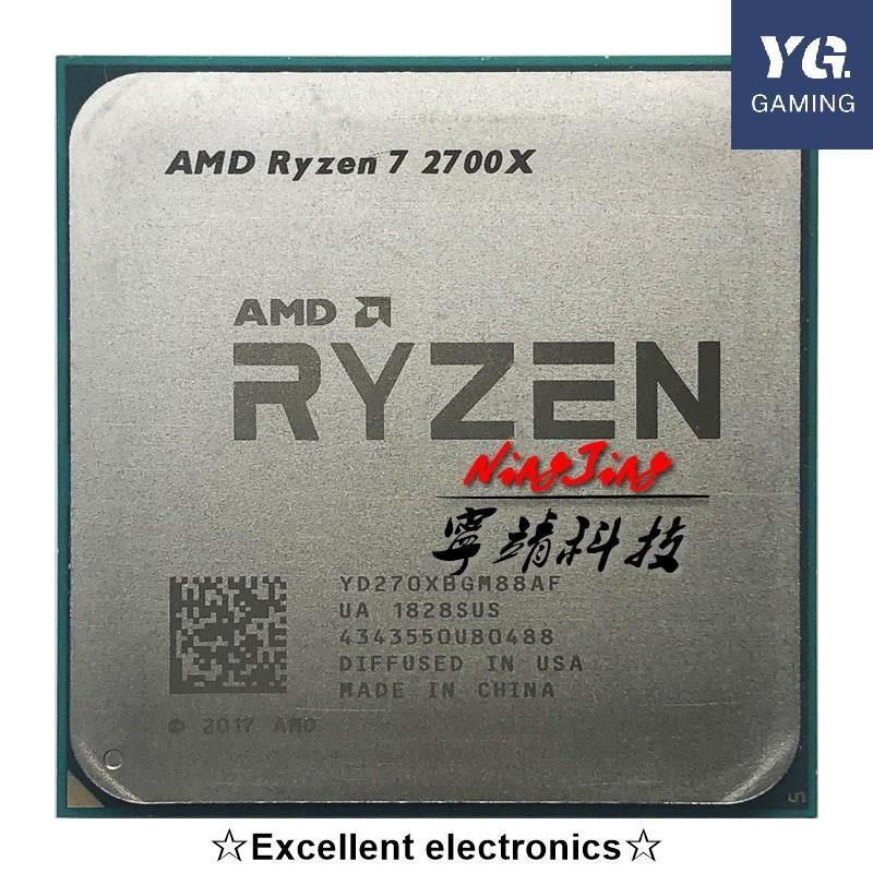 Amd Ryzen 7 2700x R7 2700x 3.7 Ghz 八核 Sinteen 螺紋 16m 105w Cp