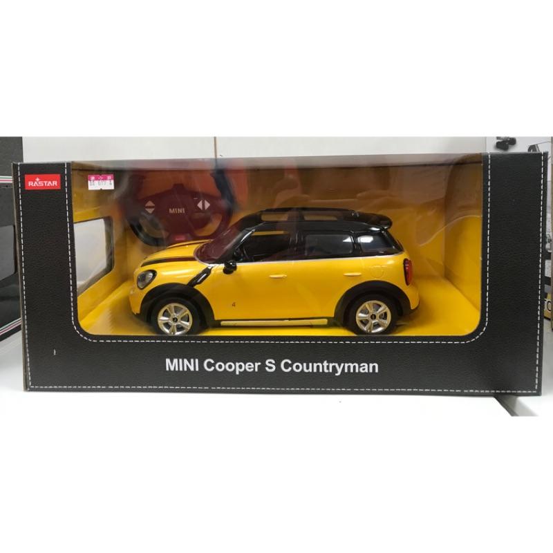 現貨 MINI cooper S Countryman 1:14 RASTAR 遙控汽車