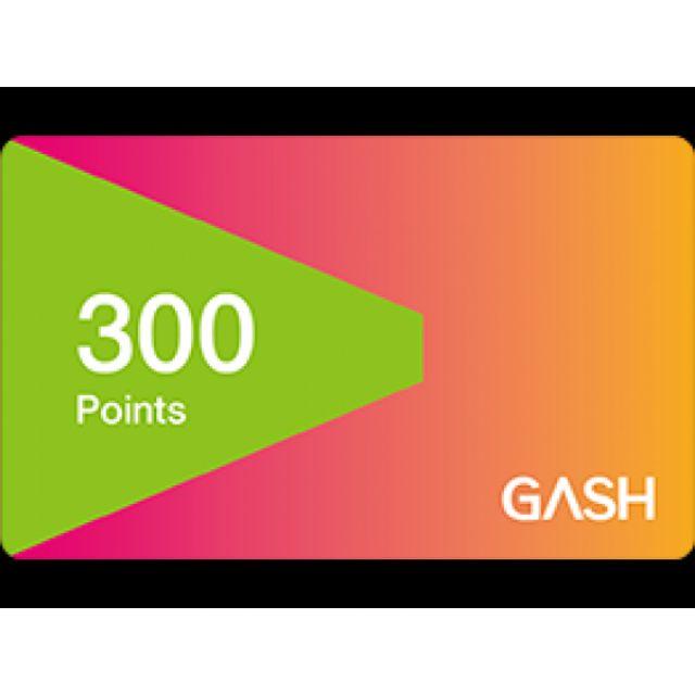 Gash point 300 遊戲 儲值 點數
