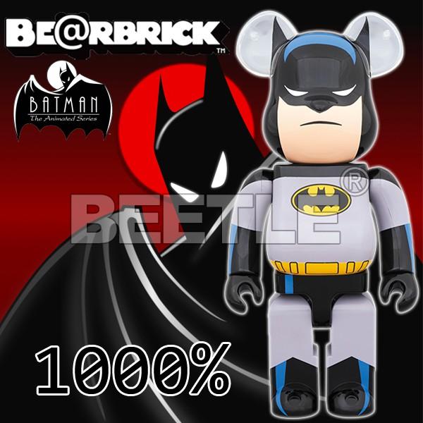 BEETLE BE@RBRICK 蝙蝠俠 BATMAN ANIMATED BEARBRICK 1000% 庫柏力克熊
