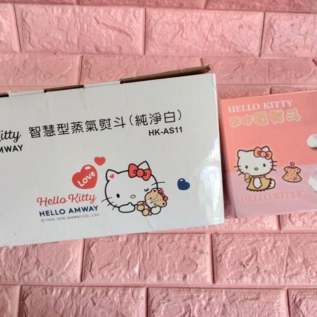 全新Hello Kitty蒸氣熨斗 純淨白還有一台是迷你電熨斗兩台一起出清 都是全新未拆封 不拆賣 直接兩台一起帶走