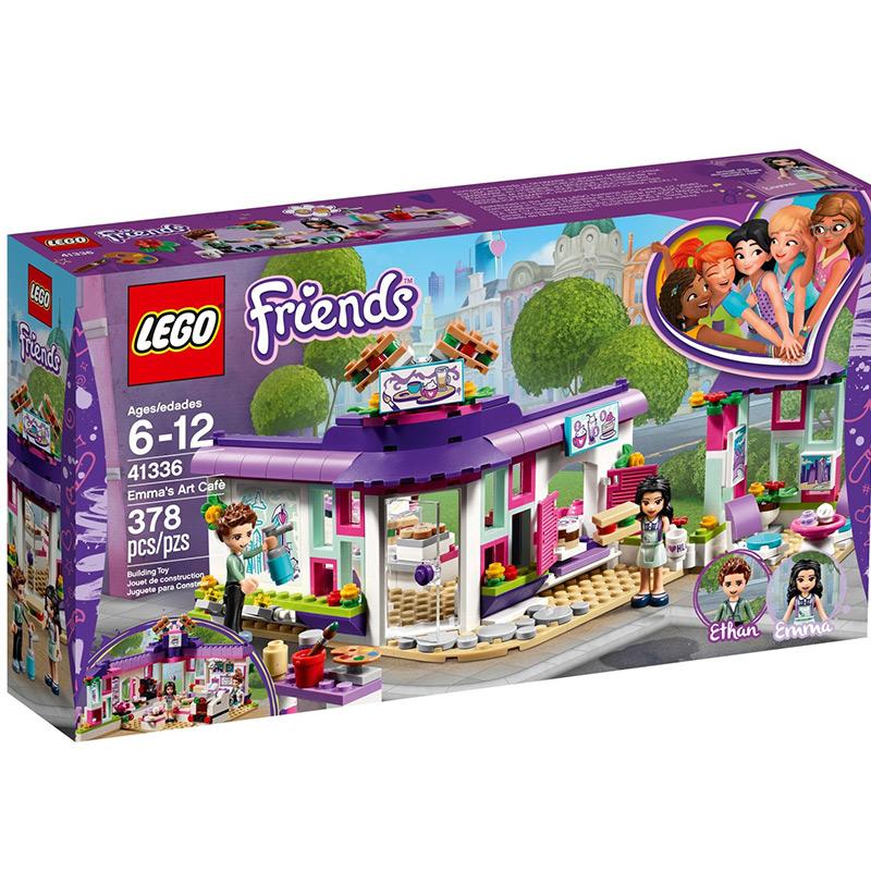 【滿天星辰】樂高LEGO41336好朋友艾瑪的藝術咖啡館6-12歲兒童玩具拼搭積木