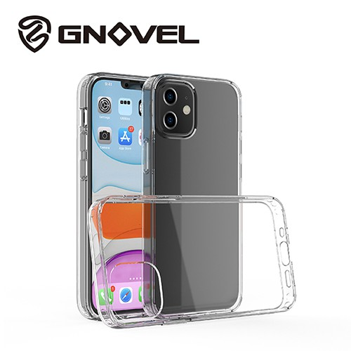 【GNOVEL】iPhone 12 / Pro 全透明保護殼 12 mini / 12 Pro Max 透明背蓋防摔殼