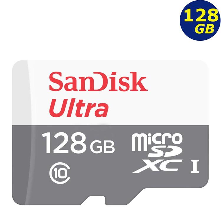 SanDisk 128GB 128G microSDXC ultra 100MB灰 microSD SD C10 記憶卡