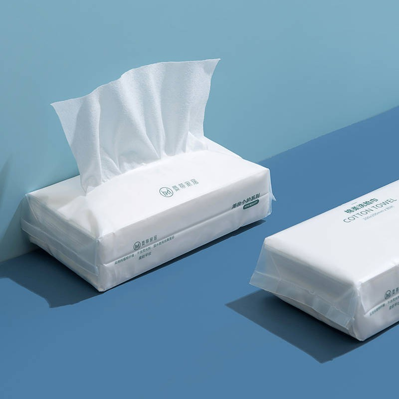 ❤❤一次性用品❤❤ n n純棉一次性洗臉巾干濕兩用學生潔面巾擦臉巾面巾紙洗臉棉柔巾嬰兒