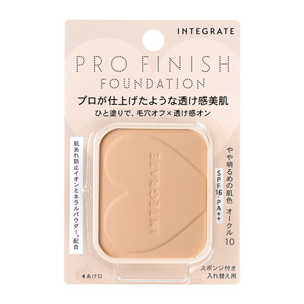 INTEGRATE柔焦輕透美肌粉餅nOC10【康是美】