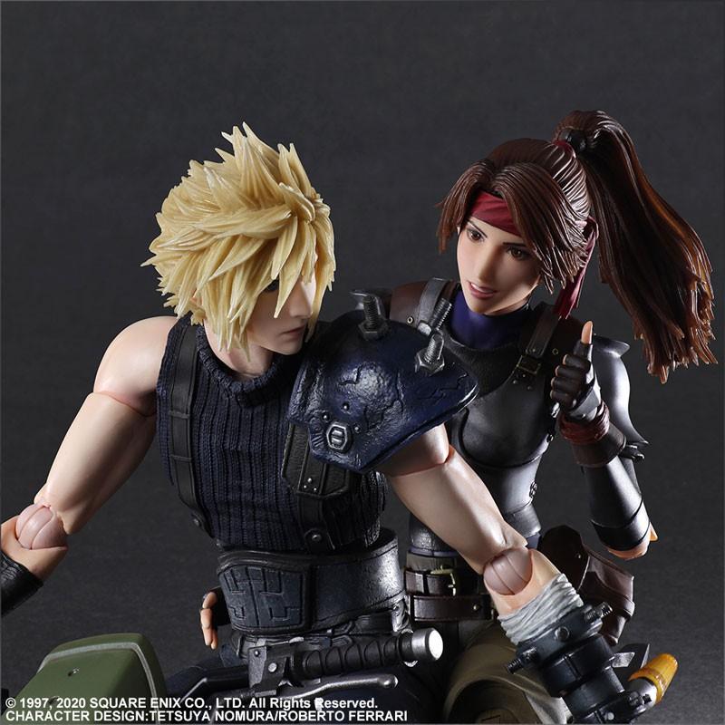 ☆ JB _TOYS ☆ 日版 Final Fantasy VII重製版 PLAY ARTS改 潔西 克勞德 摩托車套組