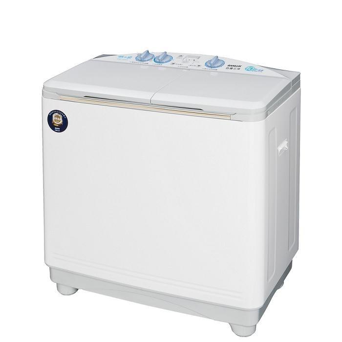 【SANLUX 台灣三洋 】10公斤 雙槽洗衣機 脫水6.5公斤 SW-1068U