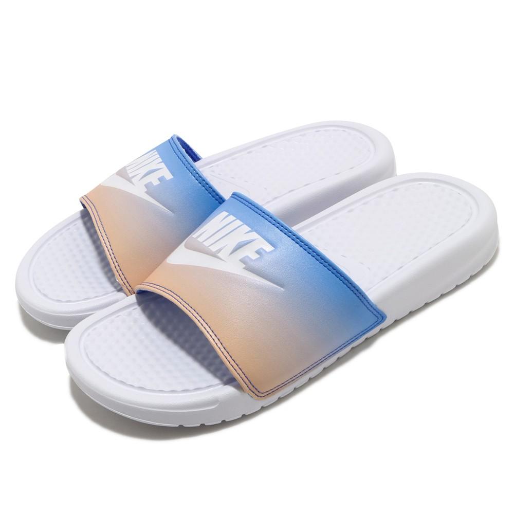 NIKE BENASSI JDI PRINT 拖鞋 夏日 輕便 舒適 漸層 618919122