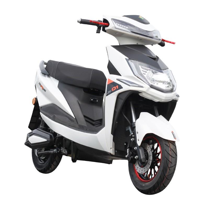 【免運】新國標戰狼電動車尚領電瓶車雙人電摩男女踏板助力車批發 空車