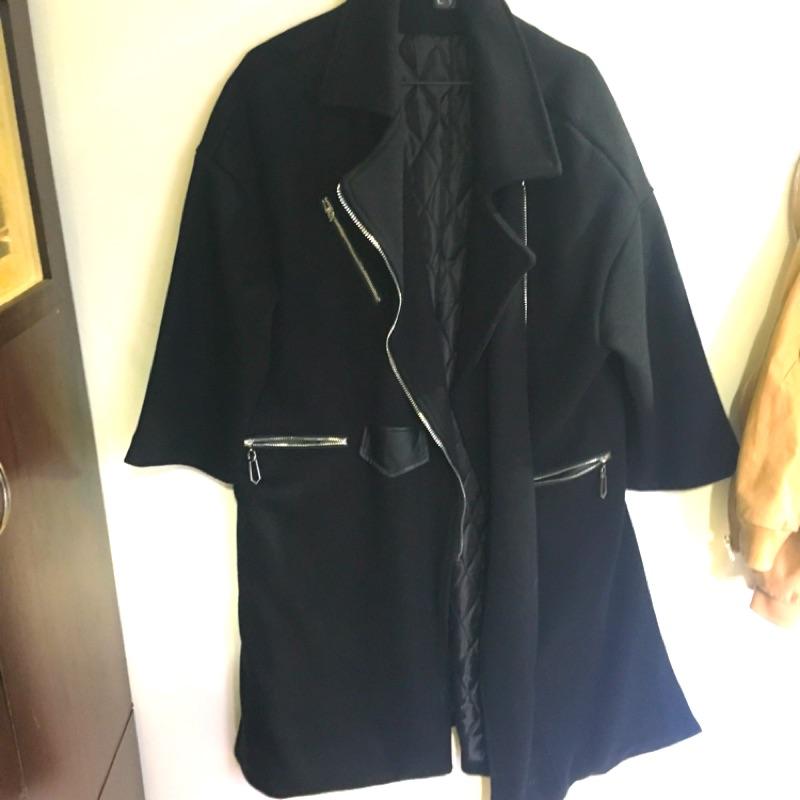 長版防風大衣