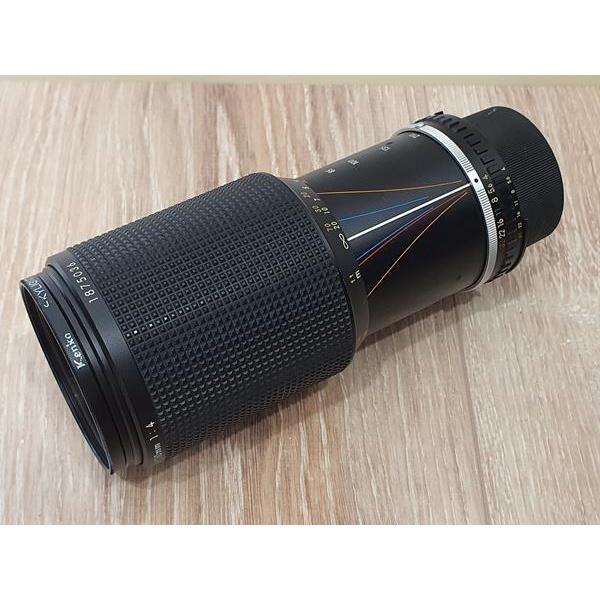 Nikon Nikkor 70-210mm f4 E系列鏡頭 變焦望遠鏡 含Kenko保護鏡 底片機 銀鹽
