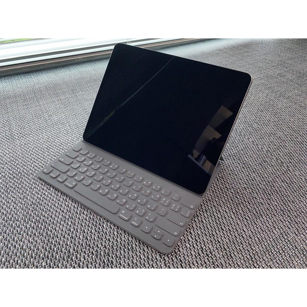 二手自售 iPad Pro 三代 12.9寸 256G+鍵盤式聰穎雙面夾