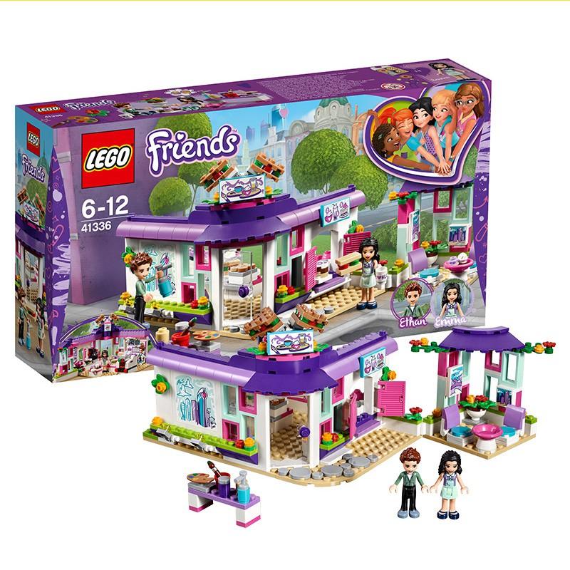 QC451  \n\n樂高積木好朋友女孩系列艾瑪的藝術咖啡館41336拼裝玩具咖啡廳