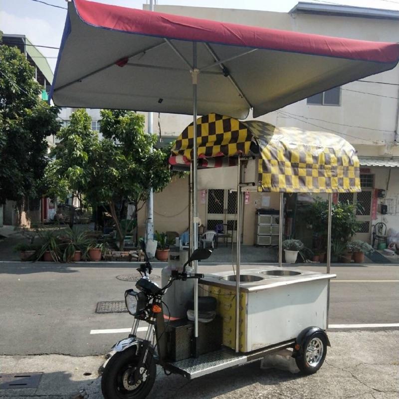 攤車 餐車 移動式攤車 電動攤車 客製化。蔥油餅