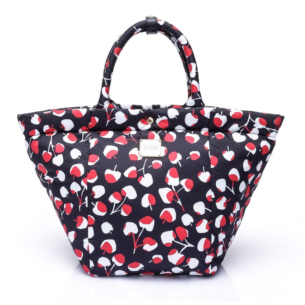 VOVAROVA空氣包-造型百變托特包-Cherrypicks-Black&Red