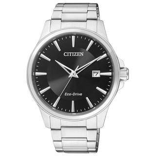 CITIZEN   BM7290-51E 男錶 光動能 藍寶石水晶玻璃鏡面 不鏽鋼錶帶 防水 日期顯示 國隆手錶專賣店 台中市