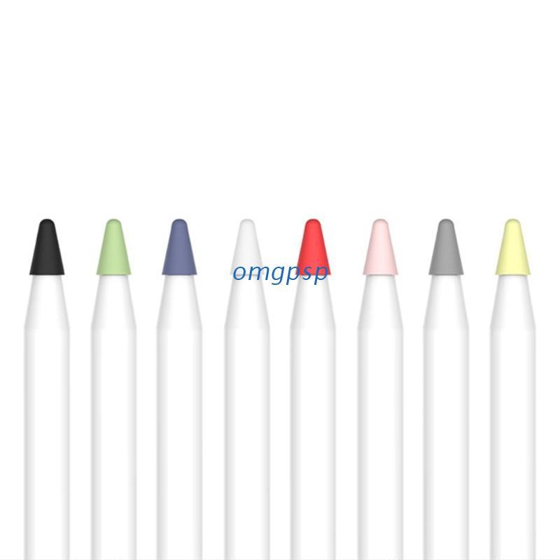 omg R* 8PCS靜音筆尖盒,用於iPad Pro第一代第二代手寫筆筆尖蓋
