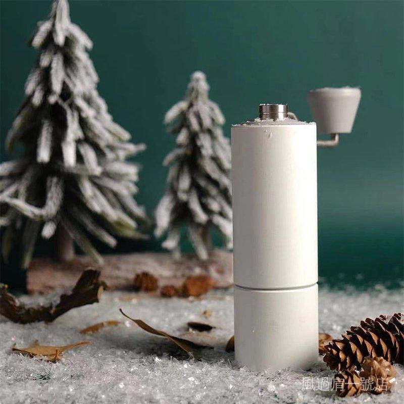 vSug 衝2咖啡機手搖栗子雙器具磨豆機咖啡磨泰摩c器家用手磨軸承手豆