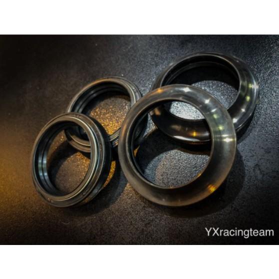 『YX』YAMAHA 41mm前叉油封/土封 一組 YZF-R1/YZF-R3正叉/YZF-R6/T-MAX500倒叉