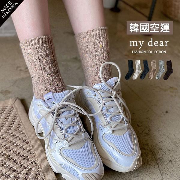 LULUS韓【A09200135】針織彩色毛線襪6色