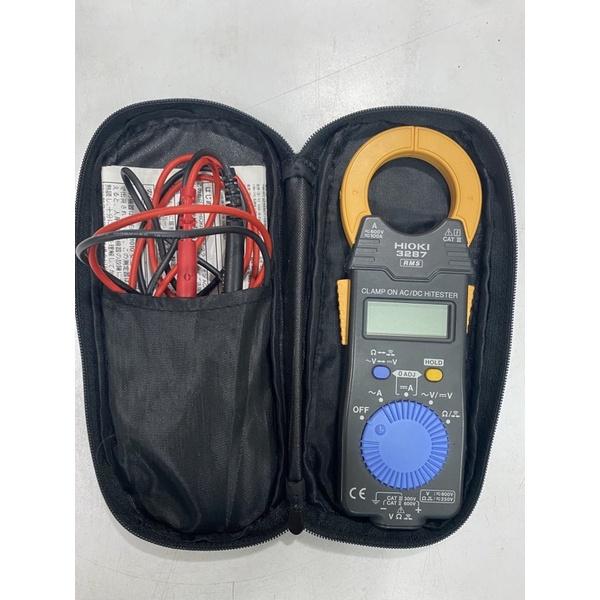 二手 HIOKI 3287 交/直流鉗型表 多功能鉤錶 卡片型電流勾表