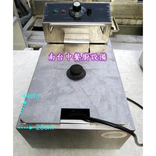 【南台中餐廚設備】*中古* 桌上型電力式8L油炸機~另有賣 攪拌機、壓麵機、石磨機、切菜機 台中市