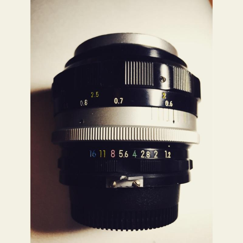 Nikon auto-s 55mm f1.2 鏡頭
