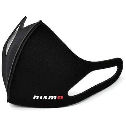 Nissan 日產專屬改裝收藏 Nismo 黑色標誌 可水洗重複使用運動口罩(非醫療用)日本原裝進口