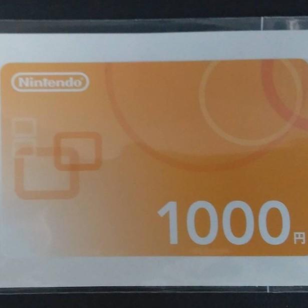 任天堂點數卡 日本1000點 任天堂遊戲主機專用  實體卡片 蘆洲-翔天