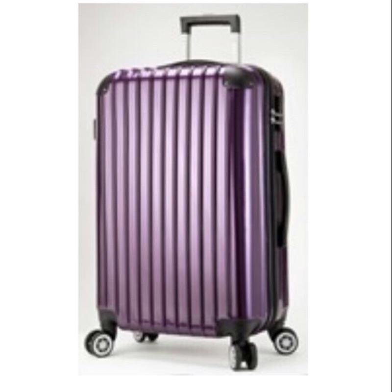24吋America tiger幻影紫行李箱 全新僅拆過檢查 限面交