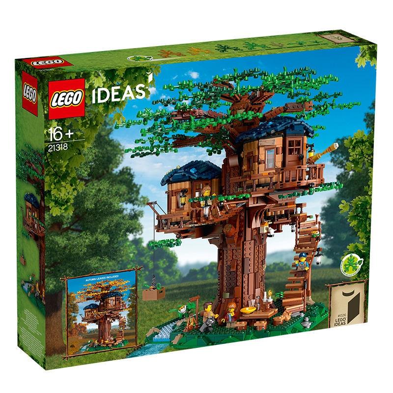 (小顆粒積木)(微型積木)樂高(LEGO)積木 Ideas系列 11月新品 16歲+ 樹屋 21318