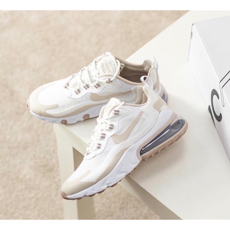 Nike Air Max 270 React/奶油杏色