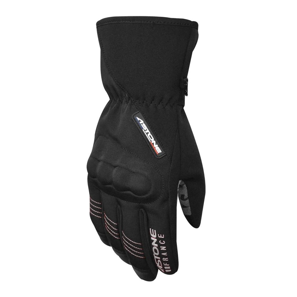 【ASTONE】GA50(黑銀)冬季防風防水保暖手套