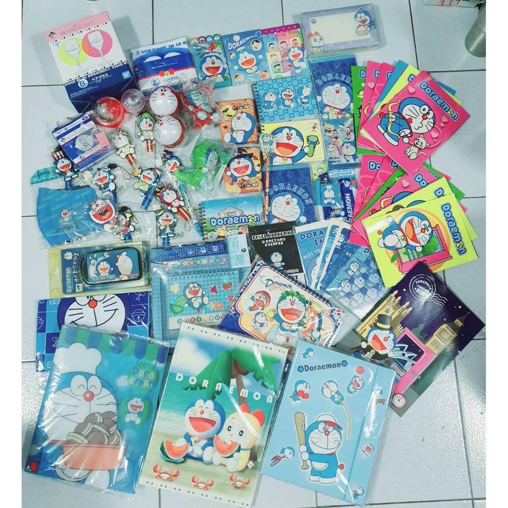 哆啦A夢新春超值福袋(內含63件商品) 哆啦A夢一番賞  哆啦A夢各式文具  哆啦A夢  Doraemon 福袋