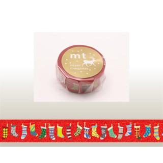 ~熊兒喵喵~ 2015 聖誕節 限定款 日本和紙膠帶 聖誕襪 MTCMAS61 新北市