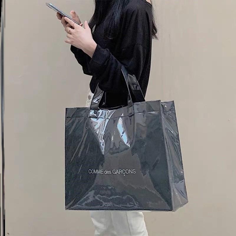 名牌大牌紙袋改造包   pvc改造包今年流行包包女2020年新款洋氣氣質女斜挎獨特百搭