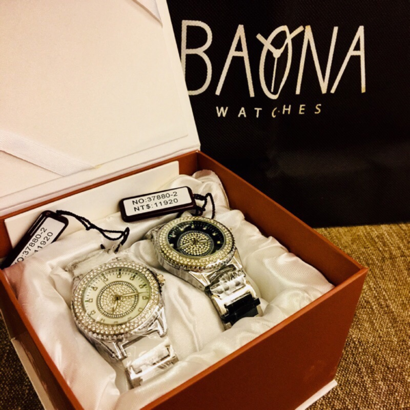 BAONA 法國精品 陶瓷表 情侶錶 日本機芯 對錶 可以單買 全新 手錶